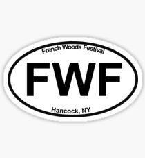 FWF Oval Bumper Sticker Sticker