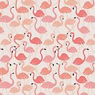 Flamingo party by theseakiwi
