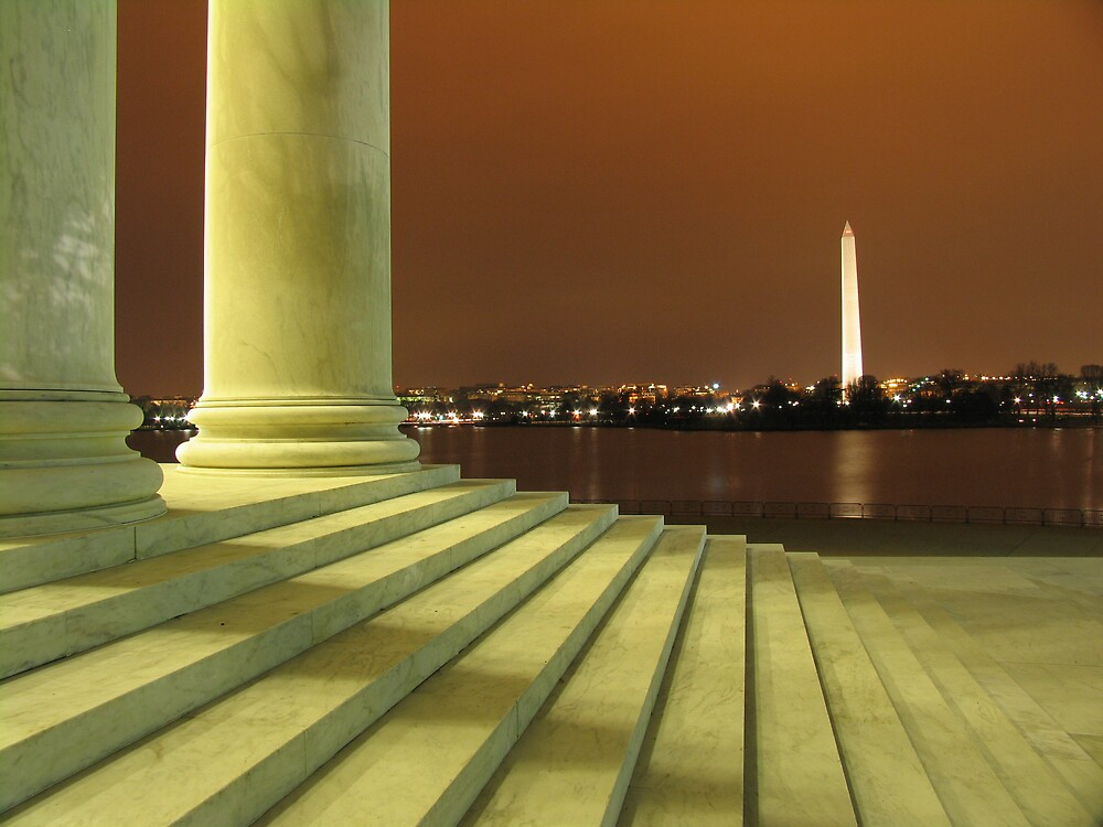 Jefferson's View of Washington by brandonsorrell