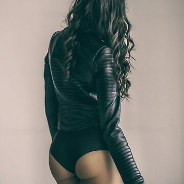 Beautiful woman from behind by alexstreinu