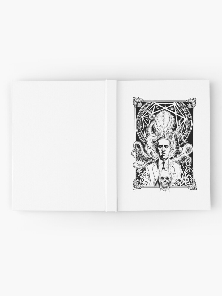 Alternate view of Lovecraft and Cthulhu Hardcover Journal