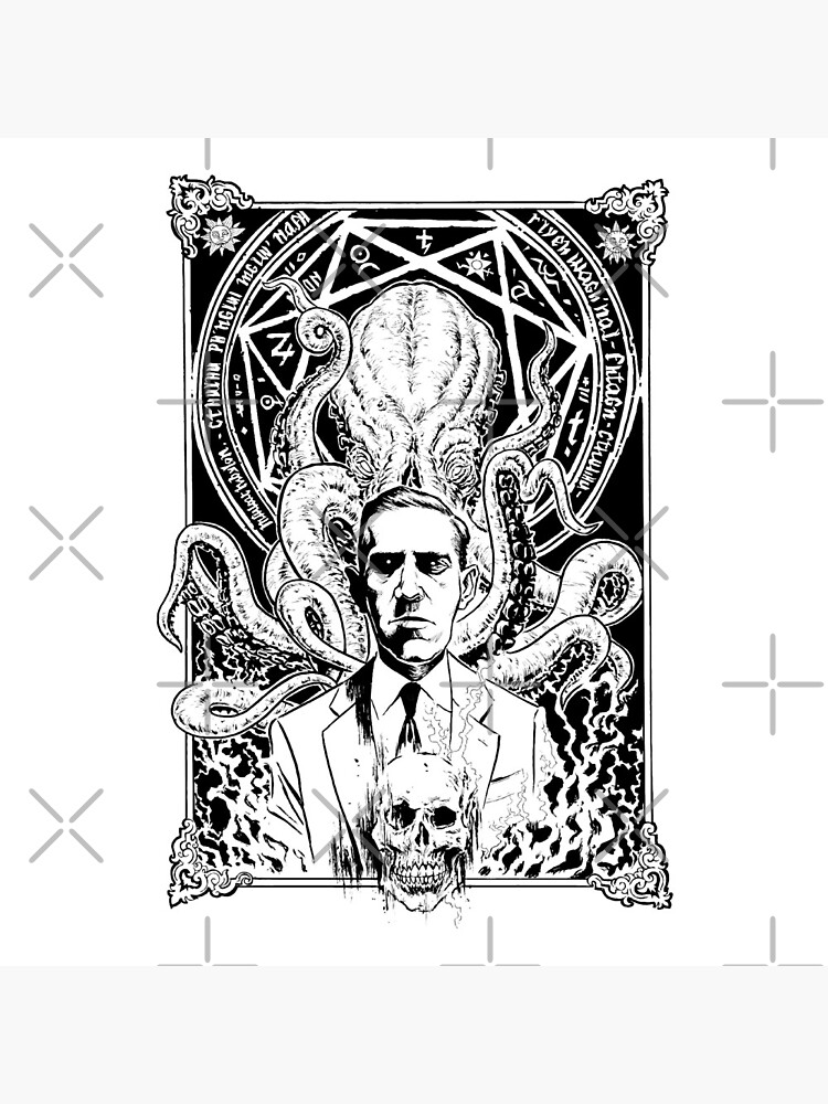 Lovecraft and Cthulhu by orinemaster