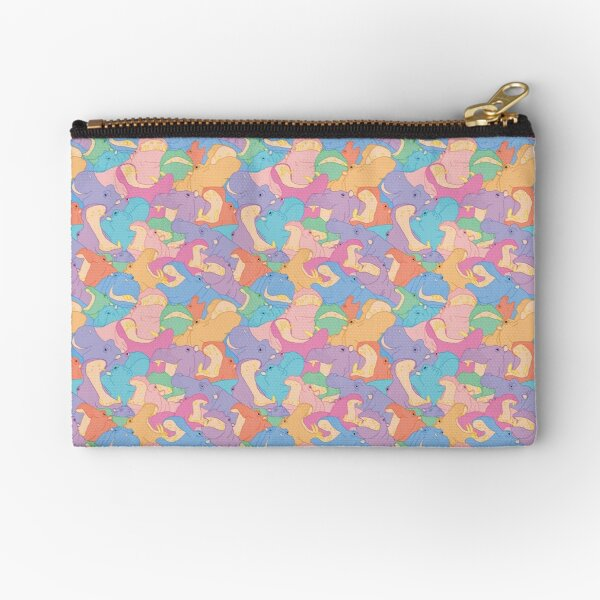 Laughing Hippos - pastel Pochette
