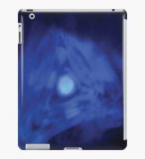 Blue Vector Hole iPad Case/Skin