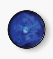Blue Vector Hole Clock