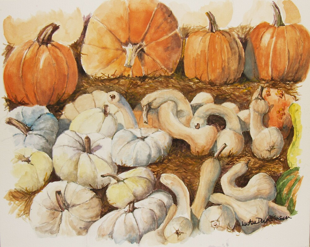 Pumpkin Pickin' by LuAnnDunkinson