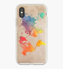 World Map maps iPhone Case