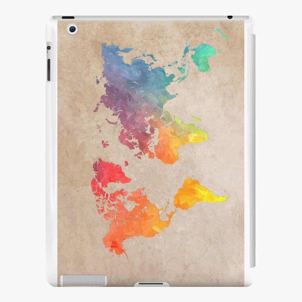 World Map maps iPad Cases & Skins