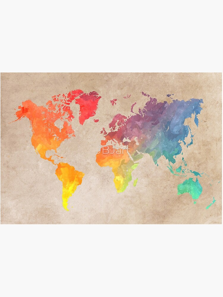World Map maps by JBJart