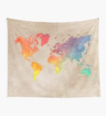 World Map maps Wall Tapestry