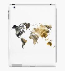 World Map Sandy world iPad Case/Skin