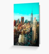 ESB AQUA SKY Greeting Card