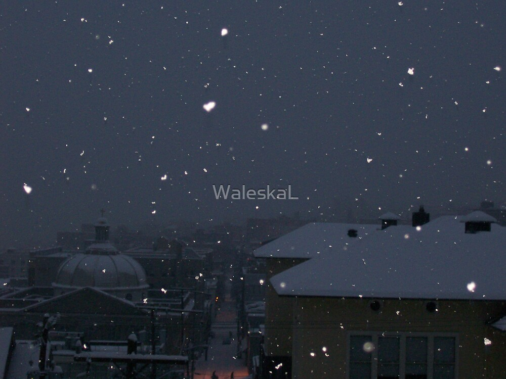 Heart Shape Snow by WaleskaL