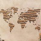 Music world map by JBJart