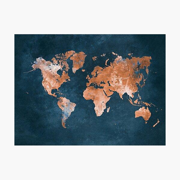 world map 15 #map #worldmap Photographic Print