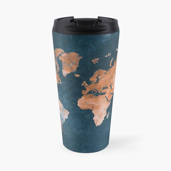 world map 15 #map #worldmap Travel Mug