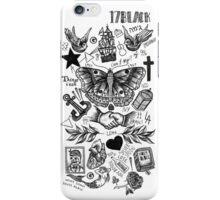 Harry Styles Tattoos iPhone Case/Skin