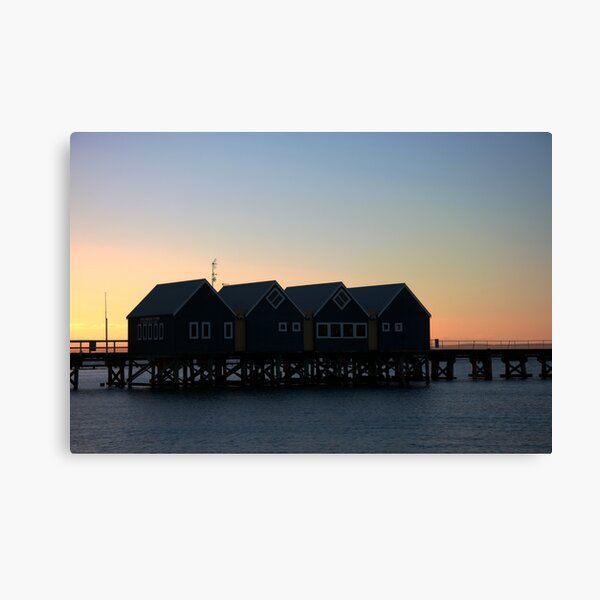 Busselton Sunset HDR Canvas Print