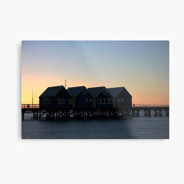 Busselton Sunset HDR Metal Print