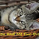 Valentines day You and Me Fur~ever by Coralie Plozza
