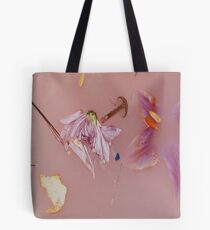Harry Styles' Pink Floral Pattern Tote Bag
