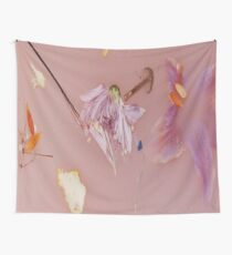 Harry Styles' Pink Floral Pattern Wall Tapestry