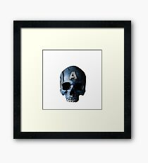 Captain is dead Framed Print