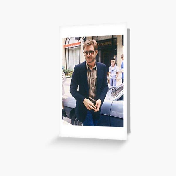 Harrison Ford Greeting Card