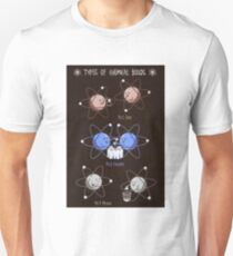 Types of Chemical Bonds - © Doc Braham; All Rights Reserved Unisex T-Shirt