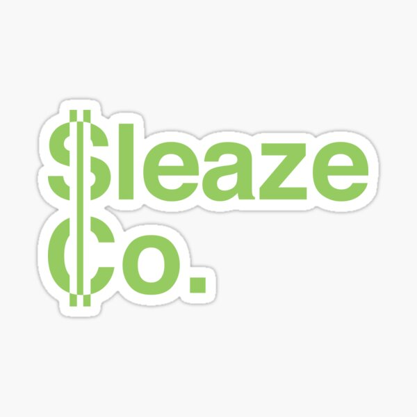 SleazeCo Mug Sticker