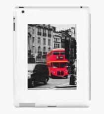 Red Bus iPad Case/Skin
