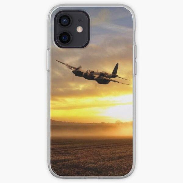 Mosquitos In The Mist  iPhone Soft Case