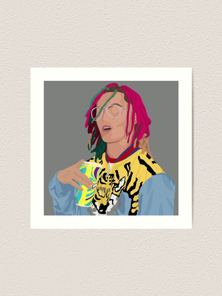 "Lil Pump Boss poster wall decoration photo print 24/"" x 24/"" inches"