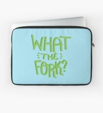 what the fork? (The Good Place) Laptop Sleeve