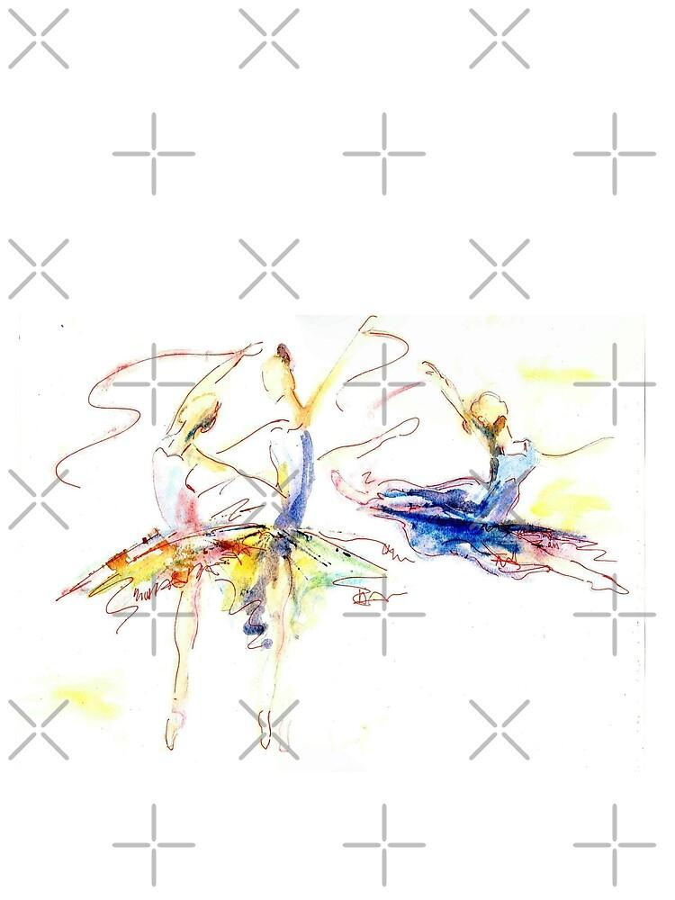 Ballerinas by milesdesignart