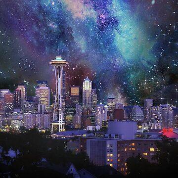 Spacey Seattle  by FrankieCat