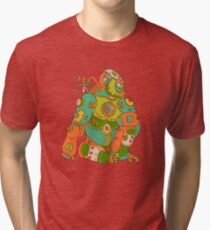 Gorilla, from the AlphaPod collection Tri-blend T-Shirt