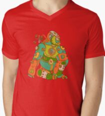 Gorilla, from the AlphaPod collection Men's V-Neck T-Shirt