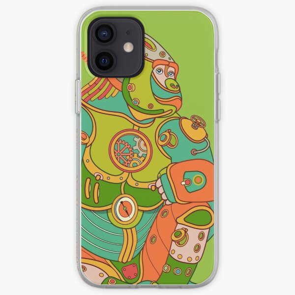 Gorilla, from the AlphaPod collection iPhone Soft Case