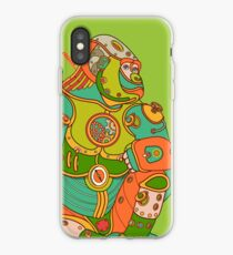Gorilla, from the AlphaPod collection iPhone Case