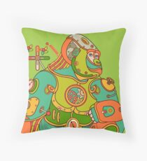 Gorilla, from the AlphaPod collection Throw Pillow