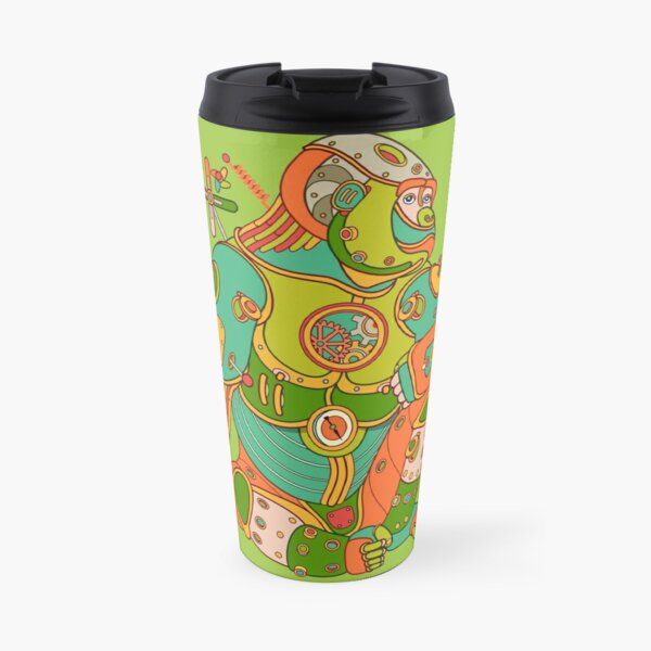 Gorilla, from the AlphaPod collection Travel Mug