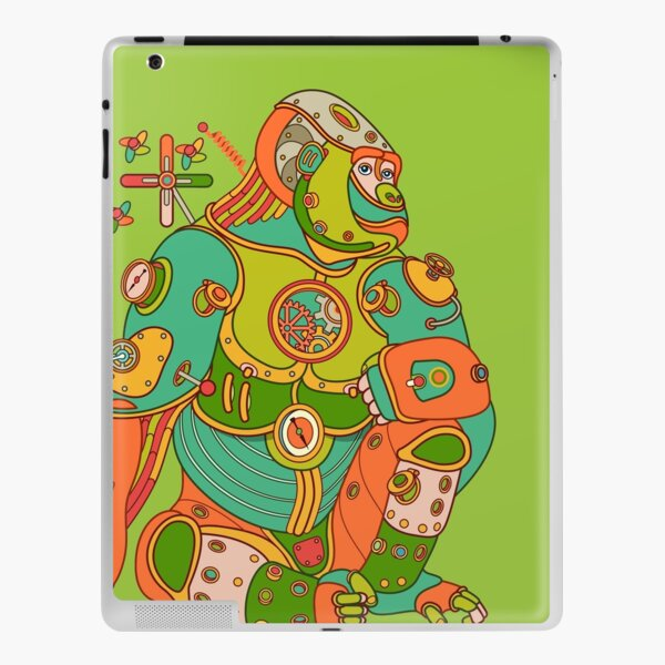 Gorilla, from the AlphaPod collection iPad Skin