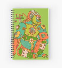 Gorilla, from the AlphaPod collection Spiral Notebook