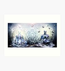 Experience So Lucid, Discovery So Clear Art Print