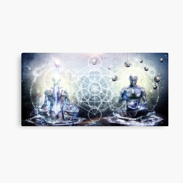 Experience So Lucid, Discovery So Clear Canvas Print