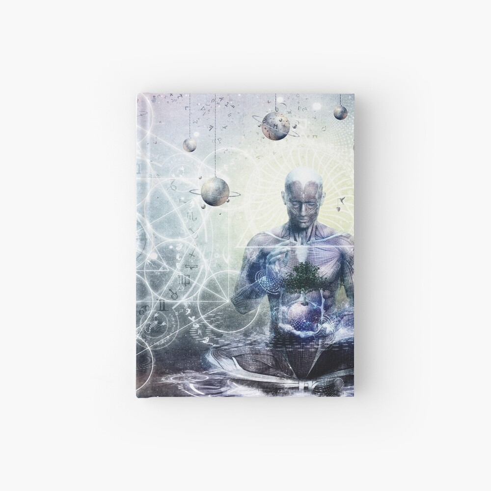 Experience So Lucid, Discovery So Clear Hardcover Journal