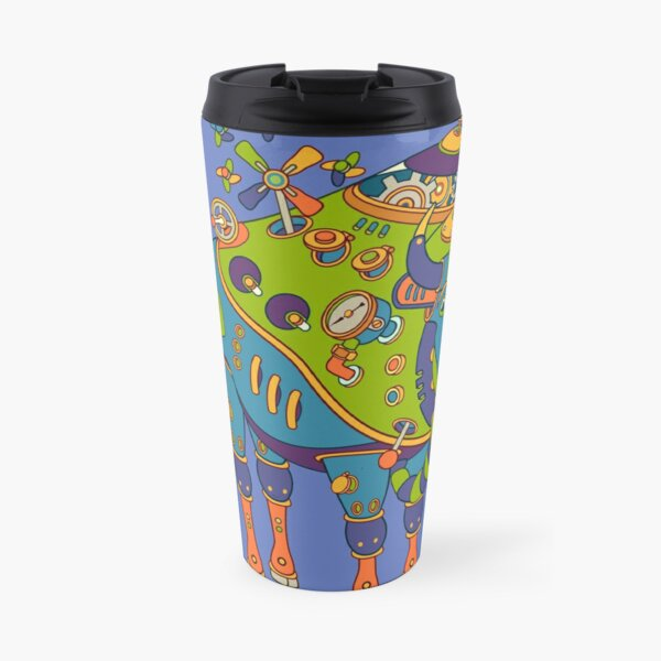 Bison, from the AlphaPod collection Travel Mug