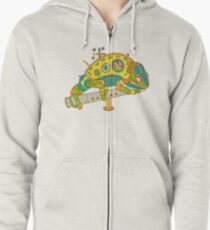 Chameleon, from the AlphaPod collection Zipped Hoodie