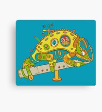 Chameleon, from the AlphaPod collection Canvas Print